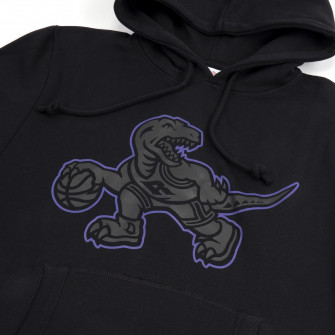Pulover M&N NBA Toronto Raptors Logo Pop ''Black''