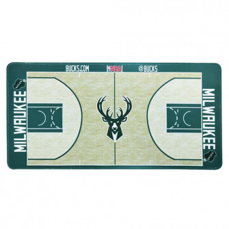 Podloga za miško NBA Milwaukee Bucks Basketball Court Style
