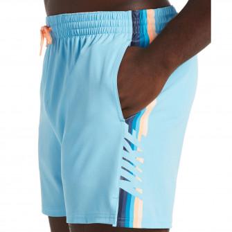 Kopalne hlače Nike Volley Retro Stripe 5'' ''Blue Gaze''