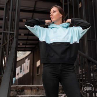 Ženski pulover Nike Sportswear Archive Remix ''Glacier Ice/Black''