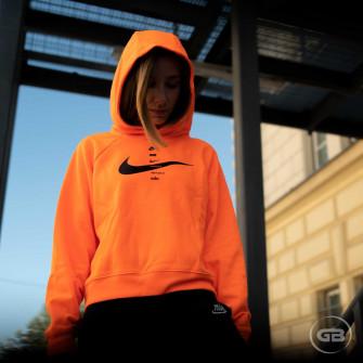Ženski pulover Nike Sportswear Swoosh Hoodie ''Total Orange''