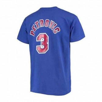 Kratka majica M&N NBA New Jersey Nets Dražen Petrović HWC Edition ''Blue''