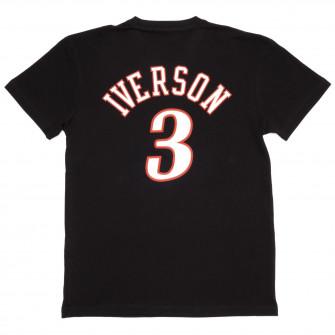 Kratka majica M&N NBA Philadelphia 76ers Allen Iverson HWC Edition ''Black''