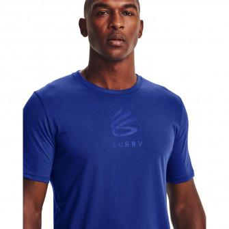 Kratka majica Under Armour Curry Brand Logo ''Blue''