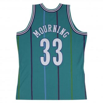 Dres M&N NBA Hardwood Classics Alonzo Mourning Charlotte Hornets