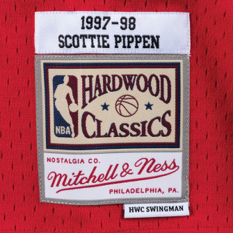 Dres M&N NBA Chicago Bulls Road 1997-98 Swingman ''Scottie Pippen''