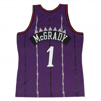 Dres M&N NBA Tracy Mcgrady Toronto Raptors 1998-99 Road Swingman ''Purple''