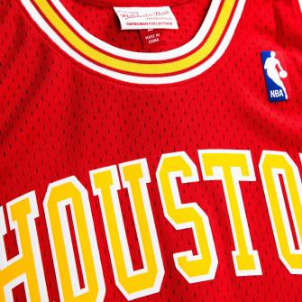 Dres M&N NBA Yao Ming Houston Rockets 2004-05 Swingman ''Red/Yellow''