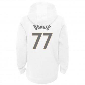 Otroški pulover Nike NBA City Edition Dallas Mavericks Luka Dončić ''White''