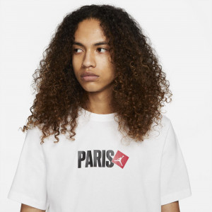Air Jordan Paris T-Shirt ''White''