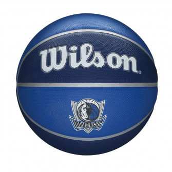 Wilson NBA Dallas Mavericks Team Tribute Outdoor Basketball (7)