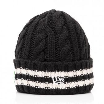 New Era NBA Team Boston Celtics Stripe Knit Hat ''Black''