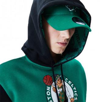 New Era NBA Boston Celtics Colour Block Hoodie ''Black/Green''