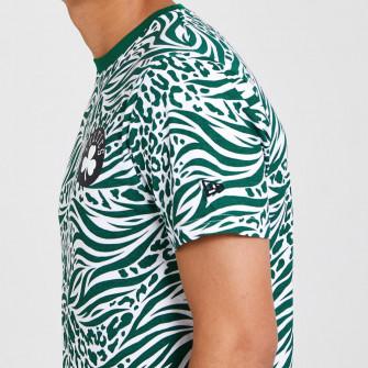 New Era All Over Print Boston Celtics T-Shirt ''Green''