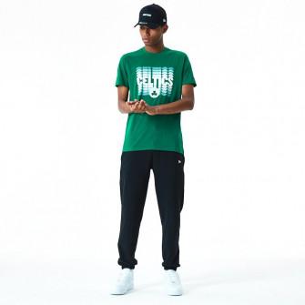 New Era NBA Boston Celtics Faded Logo T-Shirt ''Green''