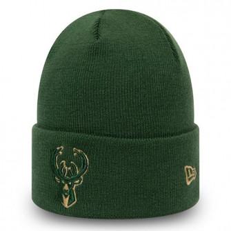 New Era Milwaukee Bucks Team Colour Out Line Hat ''Green''