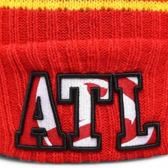 New Era NBA 2021 Draft Atlanta Hawks Cuff Beanie ''Red''