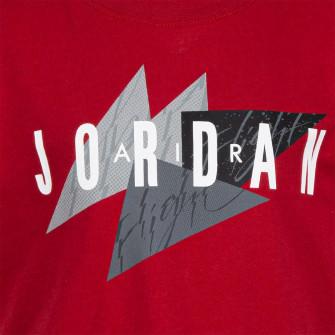 Air Jordan Flight Geo Graphic Kids T-Shirt ''Red''