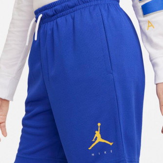 Air Jordan Dri-FIT Jumpman Logo Kids Shorts ''Blue''
