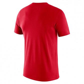 Air Jordan NBA Chicago Bulls Courtside T-Shirt ''Red''