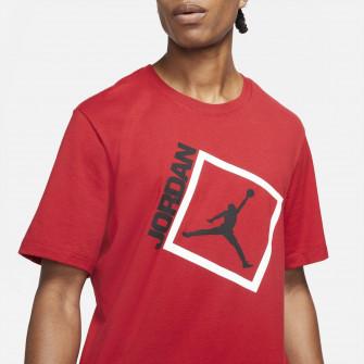 Air Jordan Jumpman Box Graphic T-Shirt ''Gym Red''