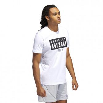 adidas Dame Opponent Advisory T-Shirt ''White''