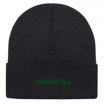M&N Team Logo Boston Celtics Cuff Knit Hat ''Black''