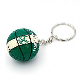 NBA Milwaukee Bucks Basketball Keychain ''Green/White''