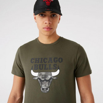 New Era NBA Chicago Bulls Outdoor Utility T-Shirt ''Khaki''