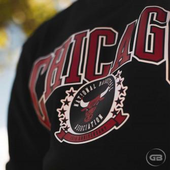 Nike NBA Chicago Bulls Courtside Crew Sweatshirt ''Black''