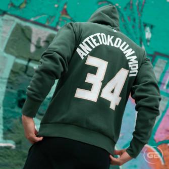Nike NBA Milwaukee Bucks Giannis Antetokounmpo Hoodie ''Green''