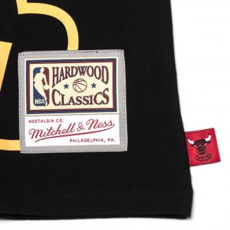 M&N NBA Chicago Bulls Windy City Flames T-Shirt ''Black''