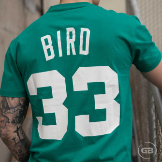 M&N NBA Boston Celtics Larry Bird HWC Edition T-Shirt ''Green''