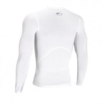 UA HeatGear Longsleeve Compresion Shirt ''White''