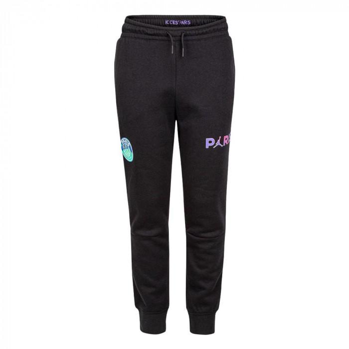 Air Jordan Paris Saint-Germain Fleece Kids Pants ''Black''