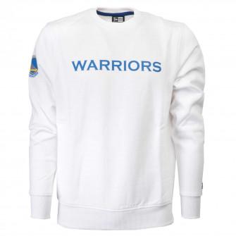 Men's New Era Crewneck Golden State Warriors Pullover