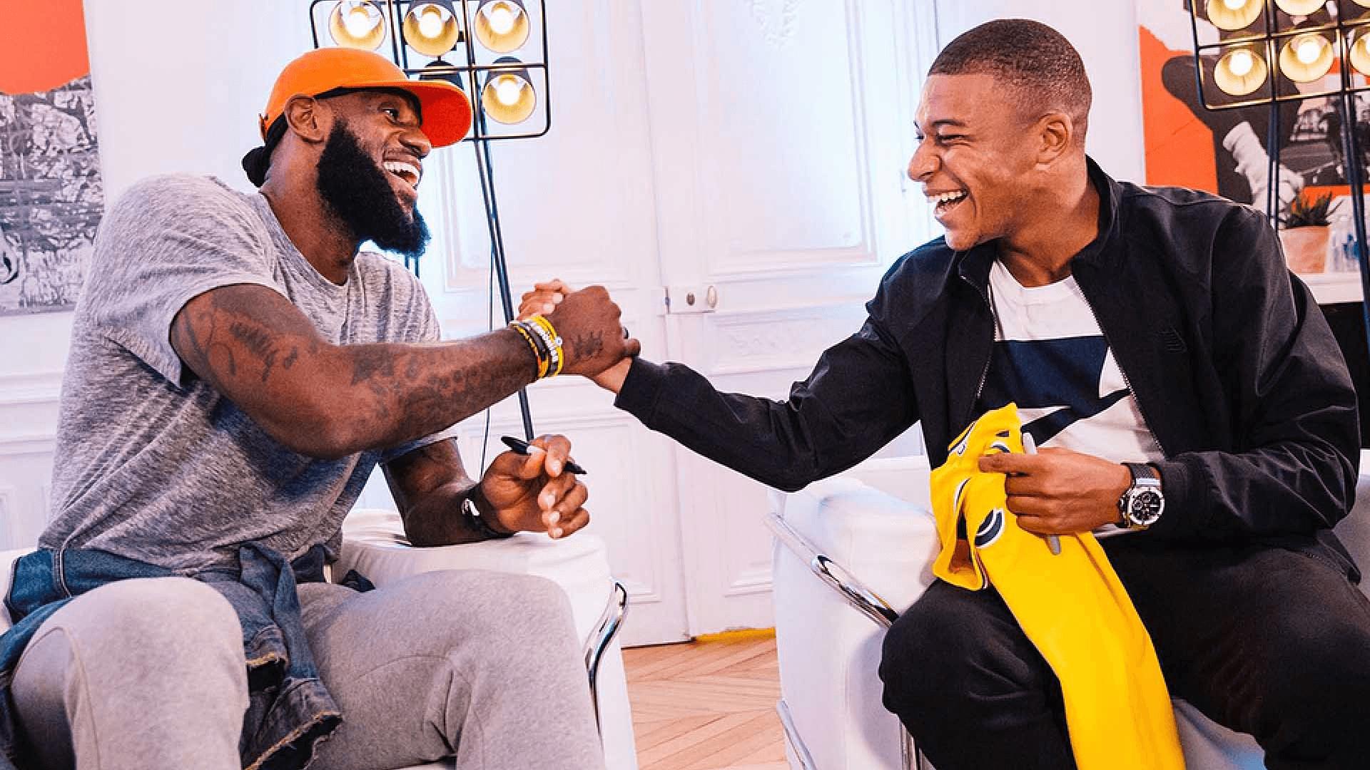 LeBron James + Kilian Mbappé = The Chosen 2